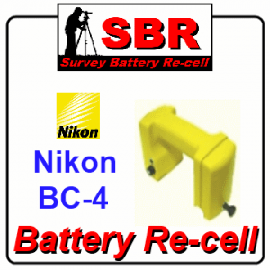 Nikon BC-4 Survey Battery Pack Rebuild / Recell / Replacement