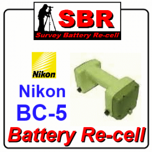 Nikon BC-5 Survey Battery Pack Rebuild / Recell / Replacement
