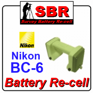 Nikon BC-6 Survey Battery Pack Rebuild / Recell / Replacement