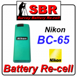 nikon-bc-65-survey-battery-recell-refill-rebuild-replacement