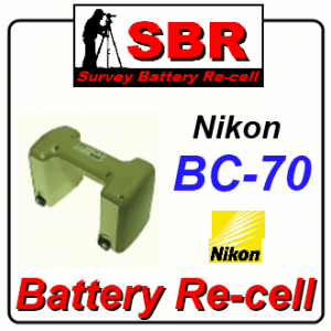 Nikon BC-70 Survey Battery Pack Rebuild / Recell / Replacement
