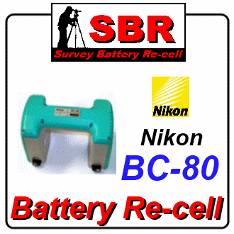 Nikon BC-80 Survey Battery Pack Rebuild / Recell / Replacement