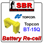 Topcon BT-15Q Survey Battery Pack Re-cell / Rebuild / Replacement