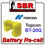 Topcon BT-20Q Survey Battery Pack Recell / Rebuild / Replacement