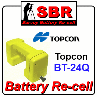 Topcon BT-24Q Survey Battery Pack Recell / Rebuild / Replacement