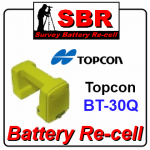 Topcon BT-30Q Survey Battery Pack Recell / Rebuild / Replacement