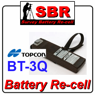 Topcon BT-3Q Battery Re-cell / Rebuild / Refill / Replacement