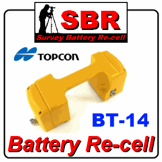 Topcon BT-14Q Battery Re-cell / Rebuild / Re-fill